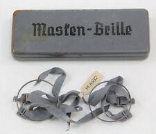 Masken-Brille en boite Wehrmacht WW2 -4- (matériel original)