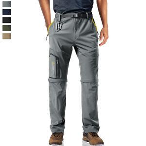 Men-039-s-Quick-Drying-5-Zip-Pockets-Hiking-Pants-Outdoor-Mountain-Climbing-Trousers