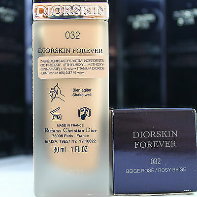 DIOR, Diorskin, FOREVER FLAWLESS PERFECTION WEAR MAKEUP, full size:30mL/1.0oz