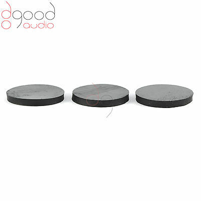 3 X SORBOTHANE 27 MM DISCS  ISOLATION & DAMPING  FEET FOR HI-FI AND TURNTABLE