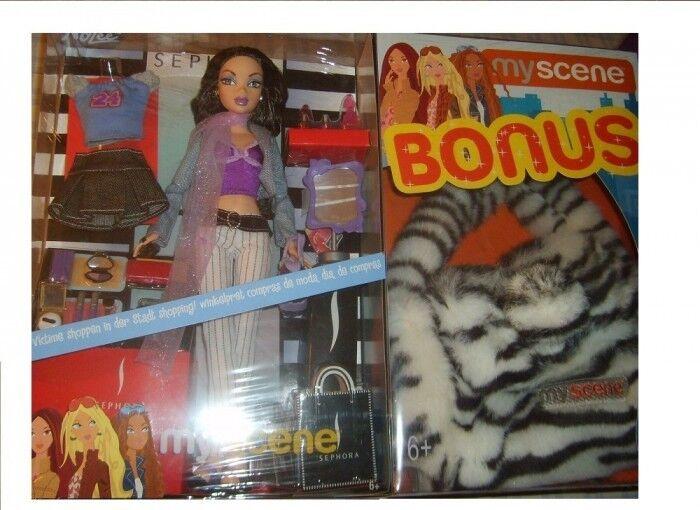 Barbie My Scene Shopping Spree Nolee Muñeca Rara