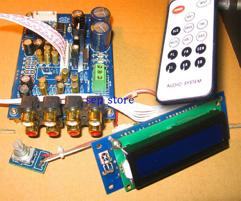 Assembled hifi PGA2310 Remote Audio preamp board Remote Volume Controller  L3-30