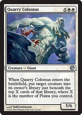 4x Colosso della Cava - Quarry Colossus MTG MAGIC Jou Journey into Nyx Eng/Ita