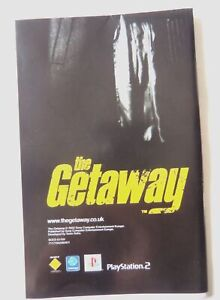 58008-Instruction-MAP-The-Getaway-Sony-PS2-Playstation-2-2002-SCES-51159