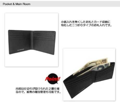 YOSHIDA PORTER CURRENT WALLET 052-02211 Black With tracking From JP