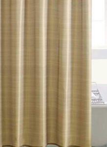 Lustre Gold Shower Curtain 180cm New Ebay