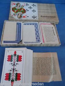 21655 Kartenkunststücke Für Jung Und Alt 1951 4 Gezinkte Kartenspiele Zaubern Weitere Rabatte üBerraschungen Antiquitäten & Kunst Zauberartikel & -tricks