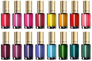 L'Oreal Color Riche Nail Polish CHOOSE SHADE+ FREE P&P | eBay