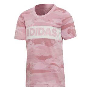 Dettagli su Adidas Donna T-Shirt Estate Maglietta da Corsa Rosa Lifestyle  Bambini DW4072