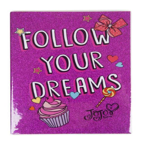 JOJO Siwa A5 Glitter Bound Notebook School Stationary Kids Diary Gift