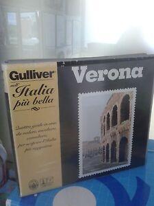 VERONA-Gulliver-VHS-AUDIOCASSETTA-PIANTINA-DIZIONARIO-DELLE-VIE