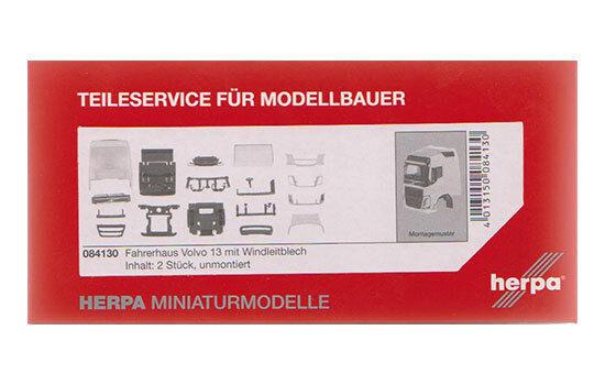 #084130 - Herpa Volvo FH GL Fahrerhaus mit Windleitblech (2 Stück) - 1:87
