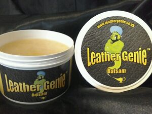 Leather genie balsam Leather Cleaner amp Conditioner for leather Jackets amp bags - <span itemprop='availableAtOrFrom'>Birmingham, United Kingdom</span> - Returns accepted Most purchases from business sellers are protected by the Consumer Contract Regulations 2013 which give you the right to cancel the purchase within 14 days after the d - Birmingham, United Kingdom