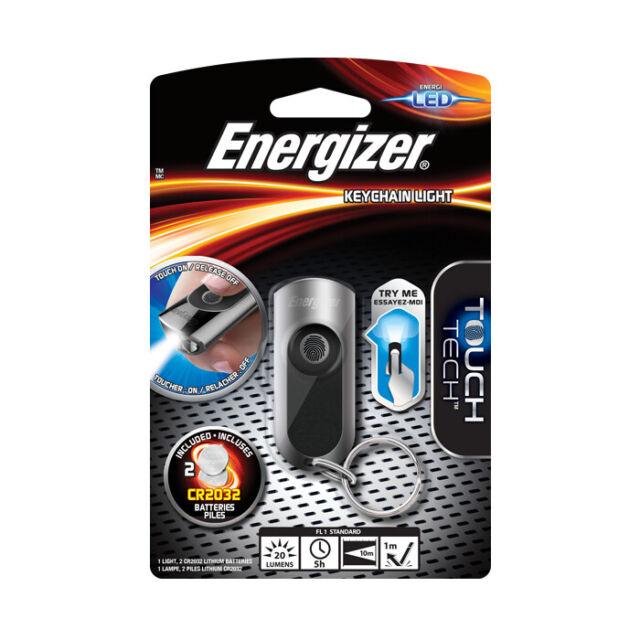 2 X Energizer Schlüsselanhänger Led-Licht Schlüsselring Taschenlampe Batterien