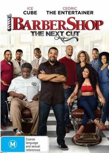 1 of 1 - The Barbershop - Next Cut (DVD, 2017) Ice Cube, Cedric The Entertainer