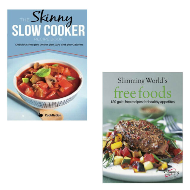 Skinny Slow Cooker Recipe Bookslimming World Free Foods 2 Books Set Pack New