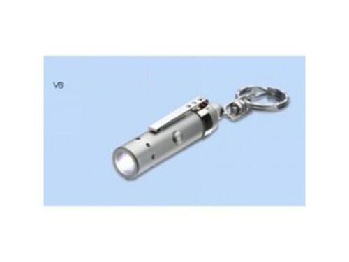 2x LED Lenser clé Lampe photons pompe v8 blanc lumière 7553 lampe de poche