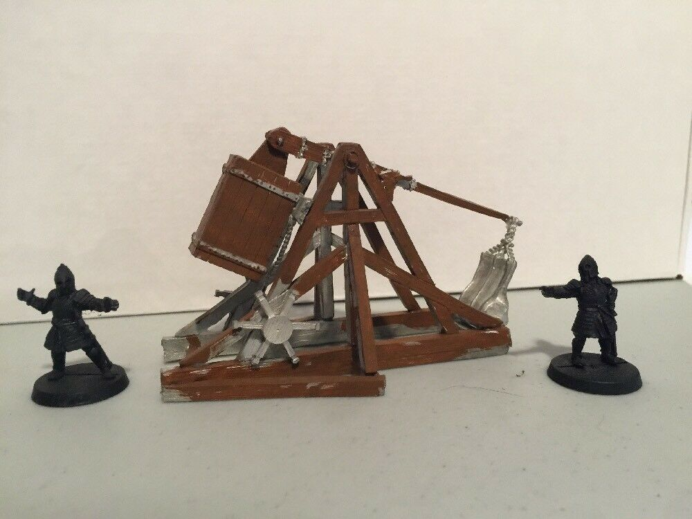 Lord of the Rings  Gondor Trebuchet - Games Workshop LOTR - Painted