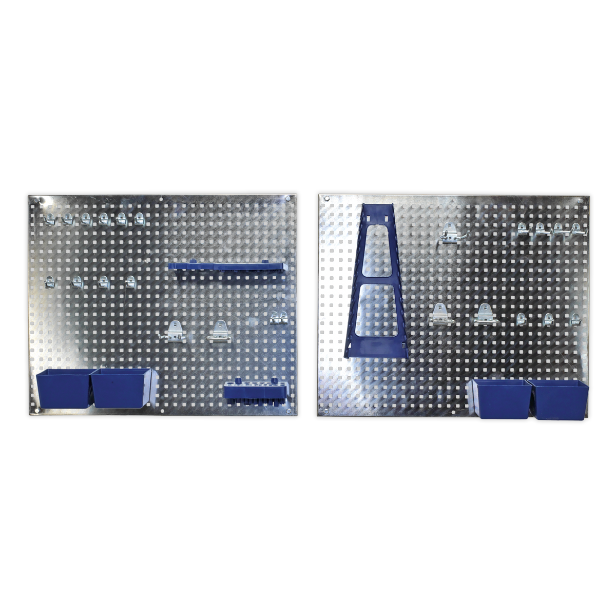 Wall Storage Pegboard Set 34pc Sealey S01102 by Sealey