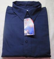 Concealed Design Conceal And Carry Long Sleeve Shirt - Large, Navy