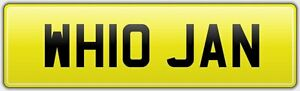 WH10-JAN-WHO-CAR-REG-NUMBER-PLATE-NO-HIDDEN-FEES-JANET-JANICE-JANINE-JANN-JANS