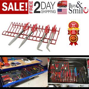 Pliers-Organizer-Tool-Rack-Holder-Drawer-Toolbox-Garage-Wrench-Storage-Metal-Set