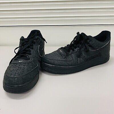 Air Mens Nike Shoes Force Sz Low Croc SneakersEbay Black 718152 12 Af1 1 007 5ulKJcTF31