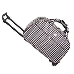 Reisetasche-mit-Rollen-Trolley-Tasche-Handtasche-Reise-Koffer-Sporttasche-Neu