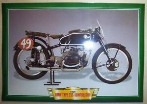 Bmw Type 255 Kompressor Vintage Classic Motorcycle Race Bike