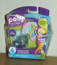 Polly Pocket Cutant Fishbowl Fish and Shellerfly