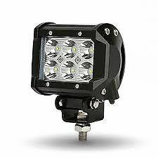 FARO LAMPADA SUPPLEMENTARE PROFONDITA AUTO FUORISTRADA 12V 6 LED 18W 6000K IP68