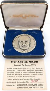 1972-999-FINE-SILVER-USA-RICHARD-NIXON-A-JOURNEY-FOR-PEACE-LARGE-MEDALLION