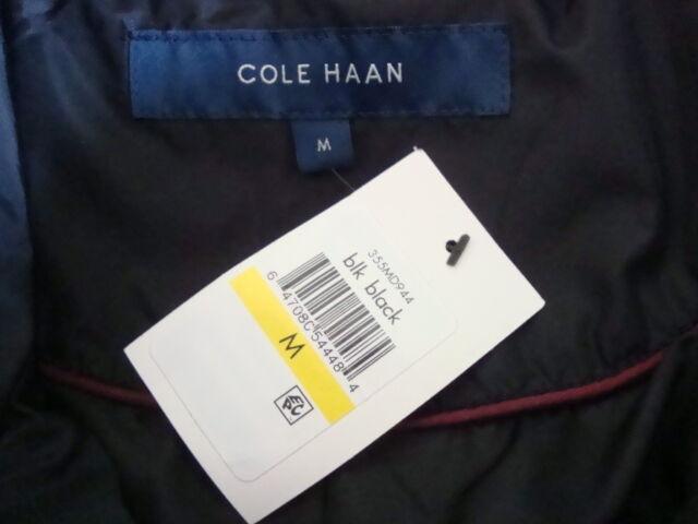 Nuevo con etiquetas Cole Haan Cuello Alto Cremallera Frontal Con  Cinturón Chaqueta de Abrigo Acolchado Abajo Llenar Talle M  ahorrar en el despacho