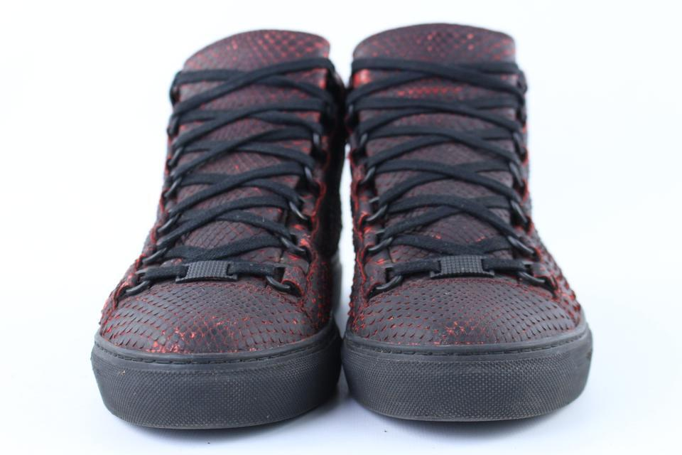 Balenciaga Rojo Zapatillas Zapatillas Zapatillas Zapatillas sombra PYTHON ARENA 6bat1213 13bb50