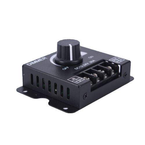 dc12v//24v 30a led switch dimmer controller for led strip single color black wg