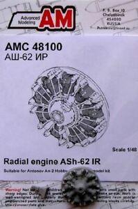 Modelado-avanzadas-1-48-AN2-ASH62-ir-motor-de-piston-radial-para-HBO-d-48100