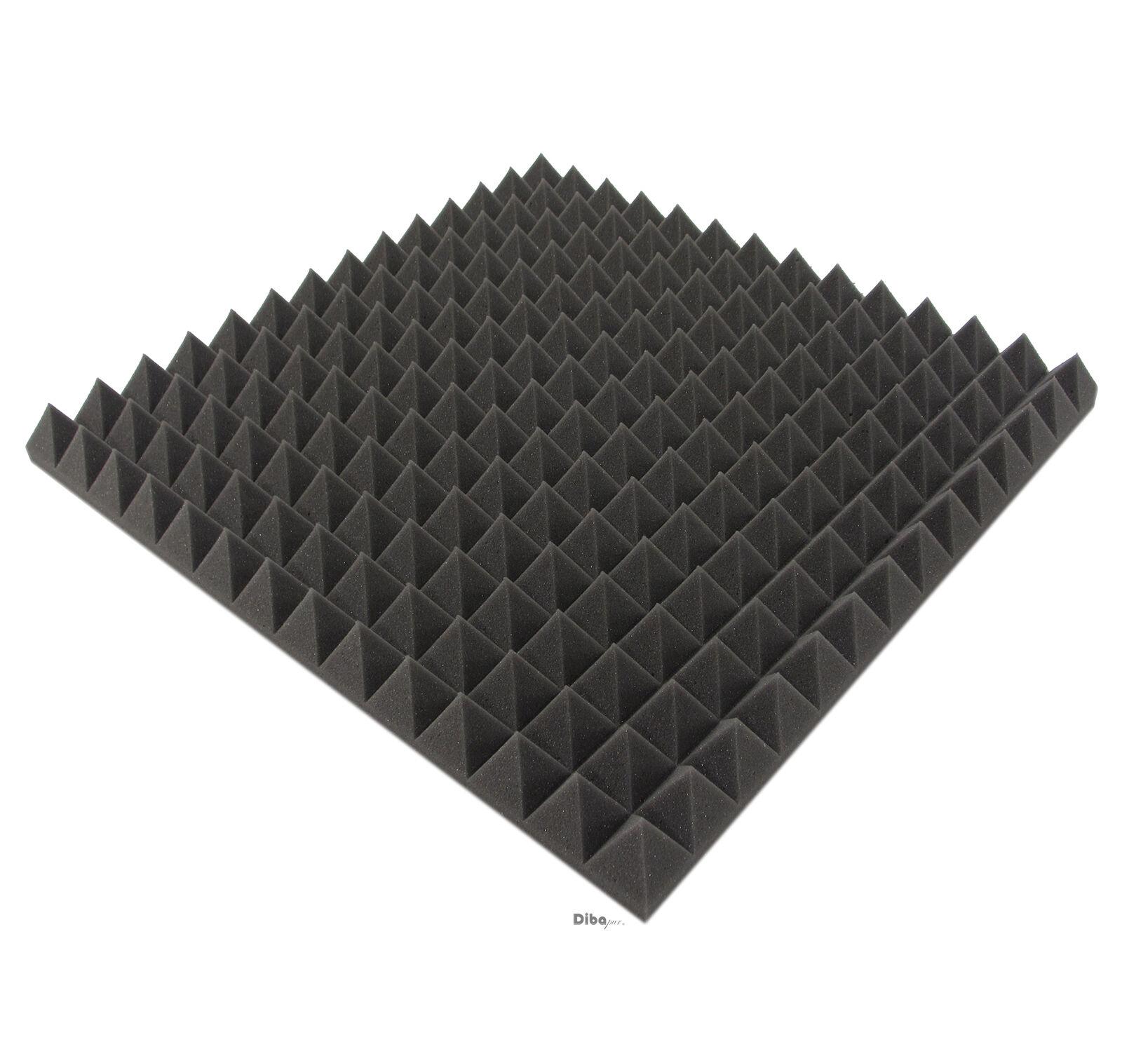°°° 110m² = 440st. Pyramiden Schaum, Akustik Schaumstoff Dämmung Dämmmatten °°°°