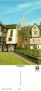 1970-039-s-TOMBLAND-ALLEY-NORWICH-NORFOLK-UNUSED-COLOUR-POSTCARD