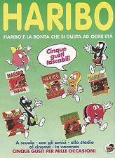 X0846 Caramelle HARIBO - Pubblicità del 1995 - Advertising