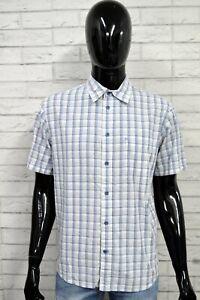 Camicia-WRANGLER-Uomo-L-Maglia-Chemise-Shirt-Camisa-Blusa-Bluse-Man-Cotone