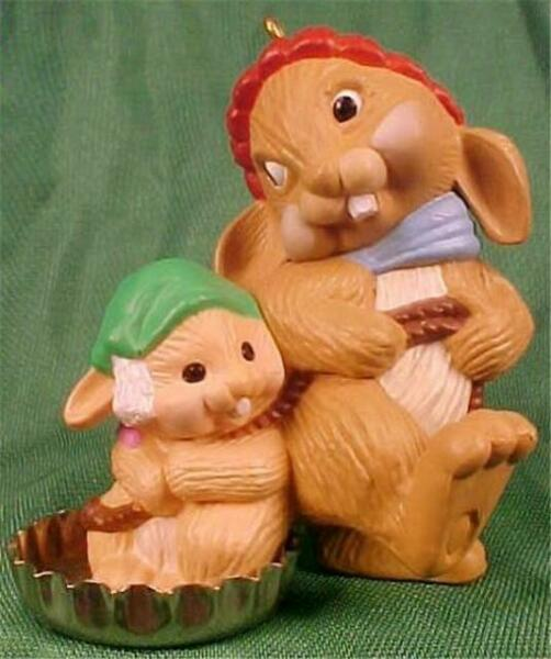 Bottlecap Fun Bunnies Hallmark Ornament Christmas 1985 ...