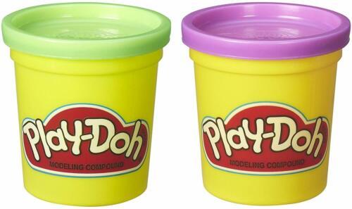 Play-Doh 2-Pack 3oz Purple /& 3oz Green