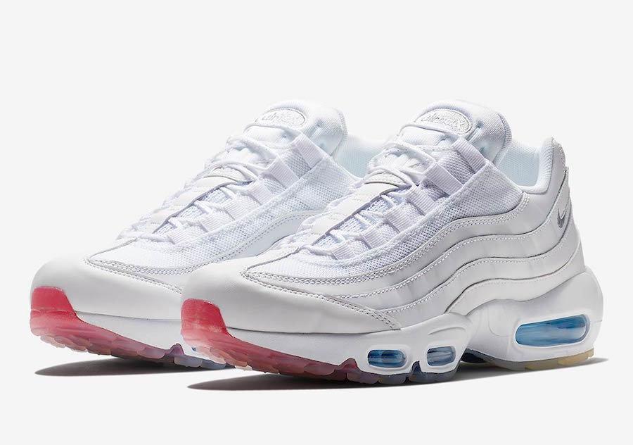 2018 Nike Air Max 95 USA Size 11.5. AQ7981-100 90 97 98 1