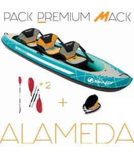 Pack Kayak Gonflable Alameda Sevylor 3 Places.
