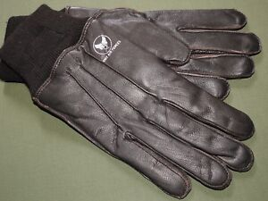 US-Army-AAF-WW2-PILOT-STYLE-COCKPIT-A-10-GOATSKIN-LEATHER-FLIGHT-GLOVES-MINT-NWT