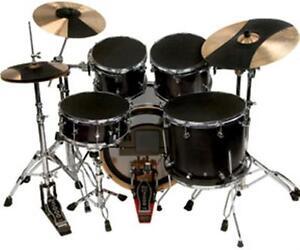 evans sound off sosetfsn fusion complete drum set mute box set ebay. Black Bedroom Furniture Sets. Home Design Ideas