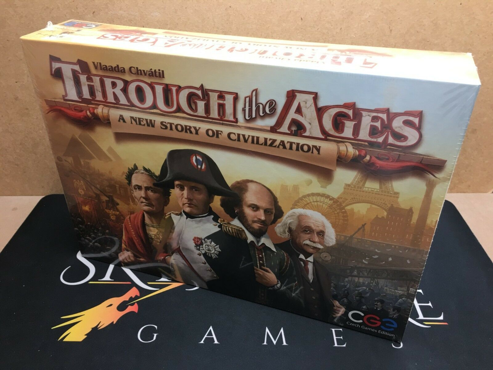Through the Ages  A New Story of Civilization - CGE (Genuine Sealed)