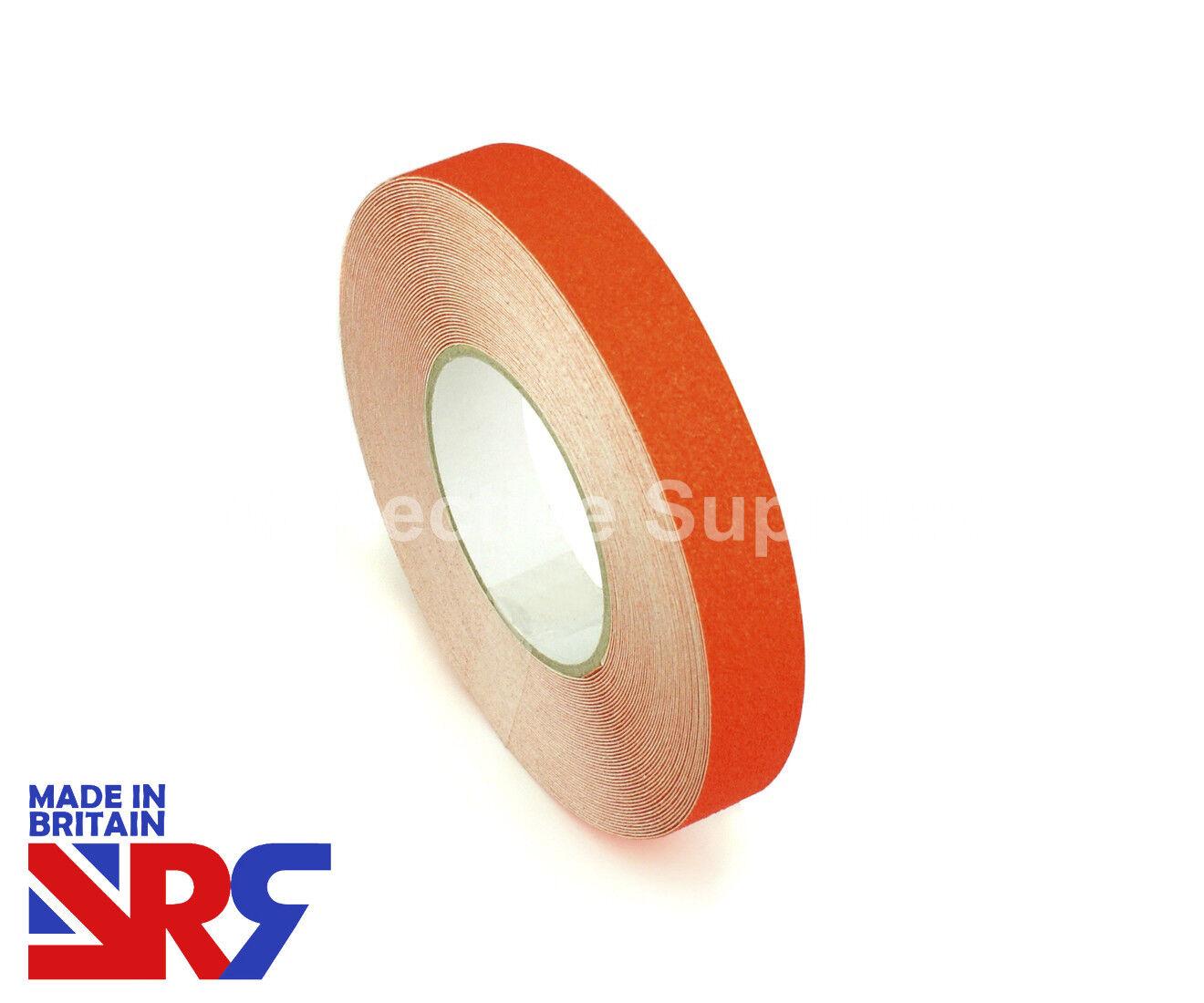 orange ANTI SLIP TAPE Standard Grip Indoor & Outdoor 25mm 50mm 100mm (RS401) UK