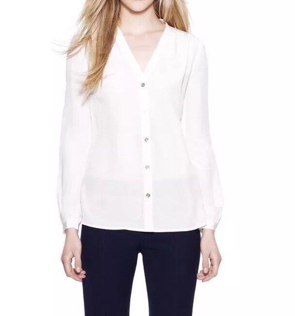 Nuevo con etiquetas  Tory Burch para mujer de azulsa Jayden blancoo Talla 8  marca famosa