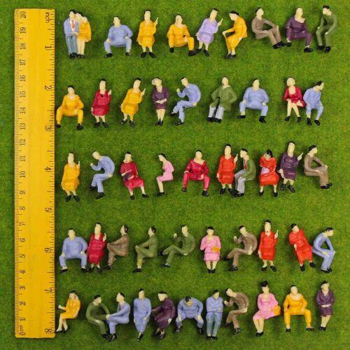 verschieden sitzende Figuren Spur 0 1:43 P4302DE NEU 50 Stk